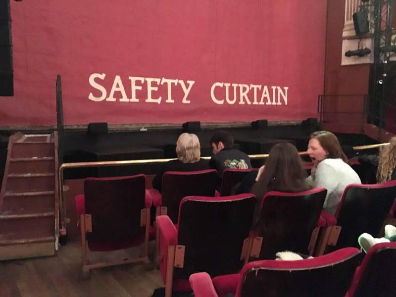 Seating view for New Theatre (Cardiff) Section Auditorium Row E Seat 1