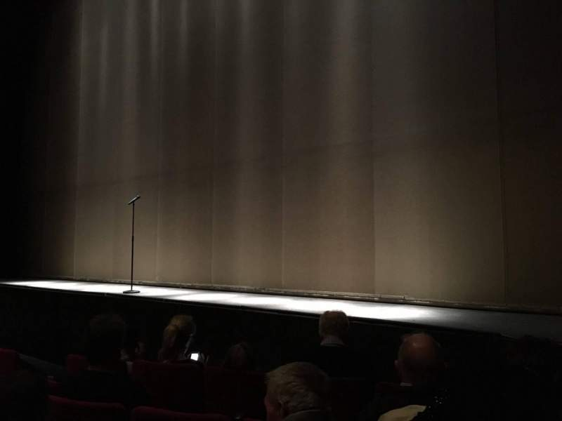 Seating view for Abbey Theatre Section Auditorium Row D Seat 32