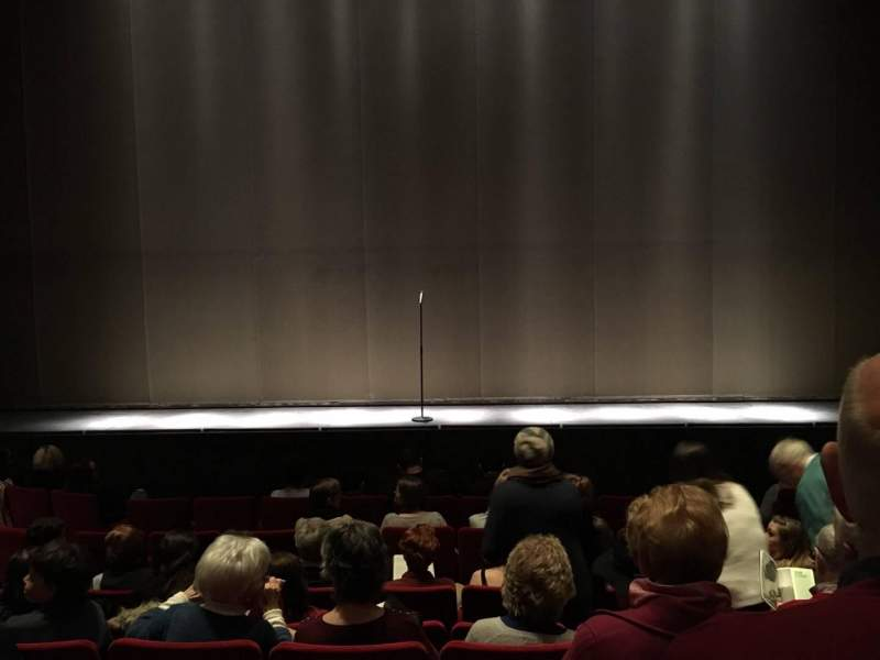 Seating view for Abbey Theatre Section Auditorium Row H Seat 21