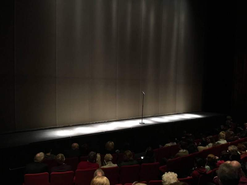 Seating view for Abbey Theatre Section Auditorium Row H Seat 10