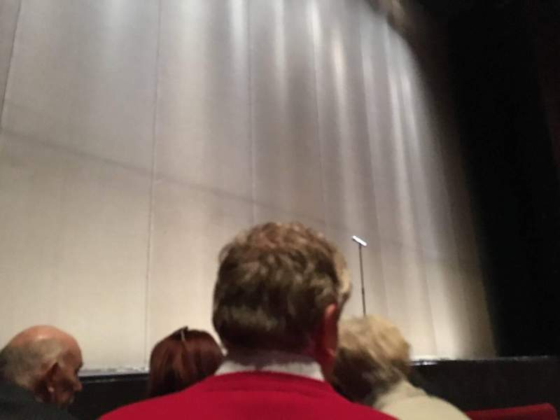 Seating view for Abbey Theatre Section Auditorium Row C Seat 11