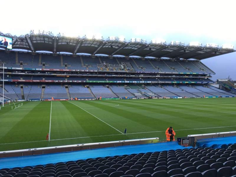 Seating view for Croke Park Section 310 Row R Seat 5