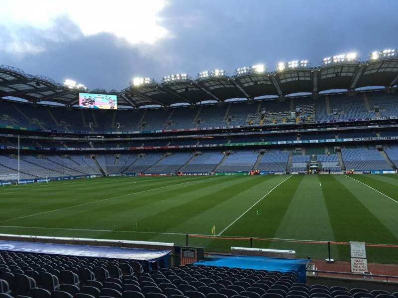 Seating view for Croke Park Section 306 Row U Seat 4