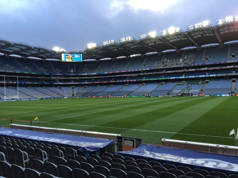Seating view for Croke Park Section 304 Row N Seat 5
