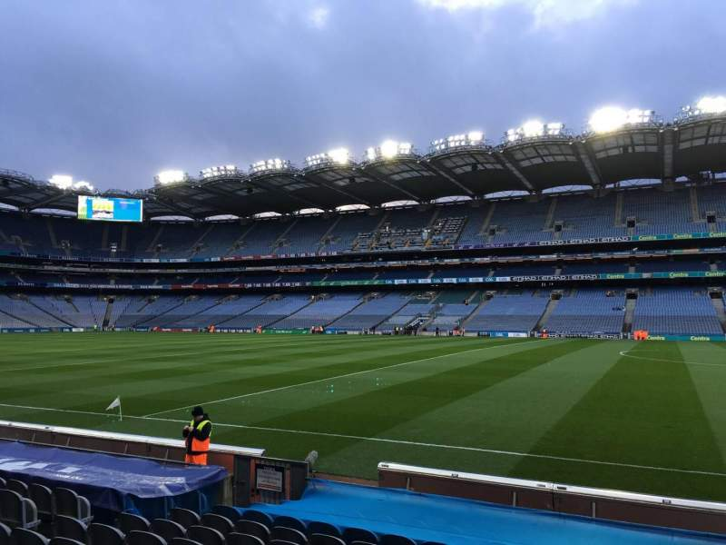 Seating view for Croke Park Section 303 Row M Seat 3