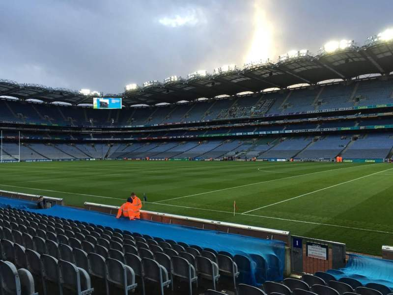Seating view for Croke Park Section 301 Row N Seat 9