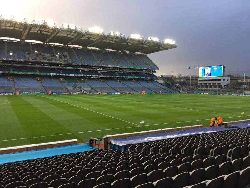 Seating view for Croke Park Section 309 Row U Seat 26