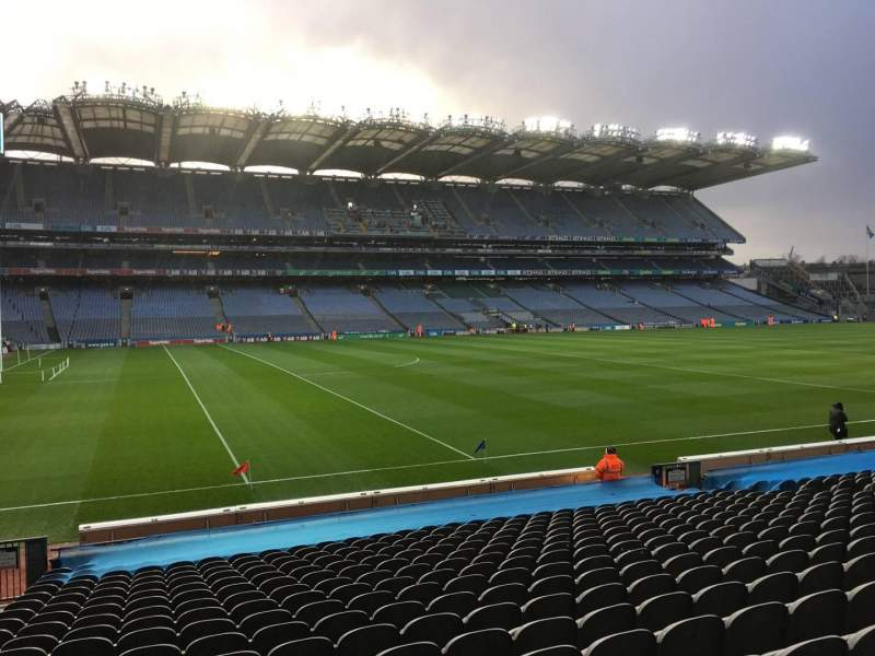 Seating view for Croke Park Section 310 Row U Seat 11