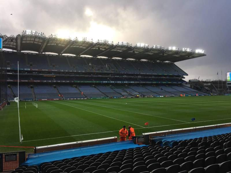 Seating view for Croke Park Section 311 Row R Seat 11