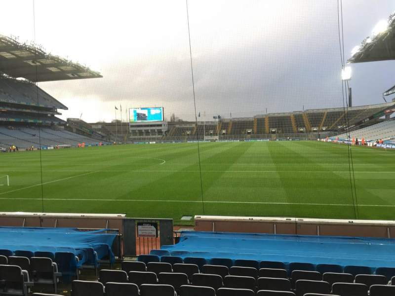 Seating view for Croke Park Section 317 Row M Seat 9