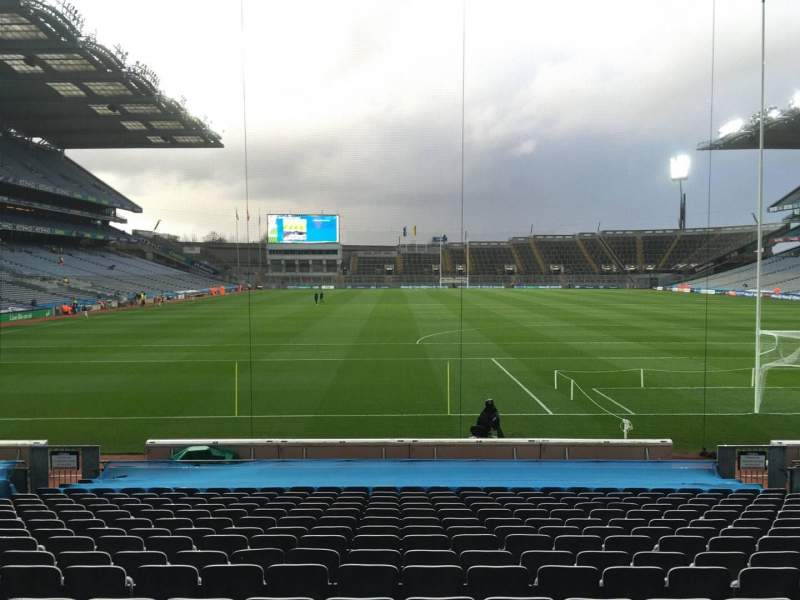 Seating view for Croke Park Section 319 Row T Seat 1