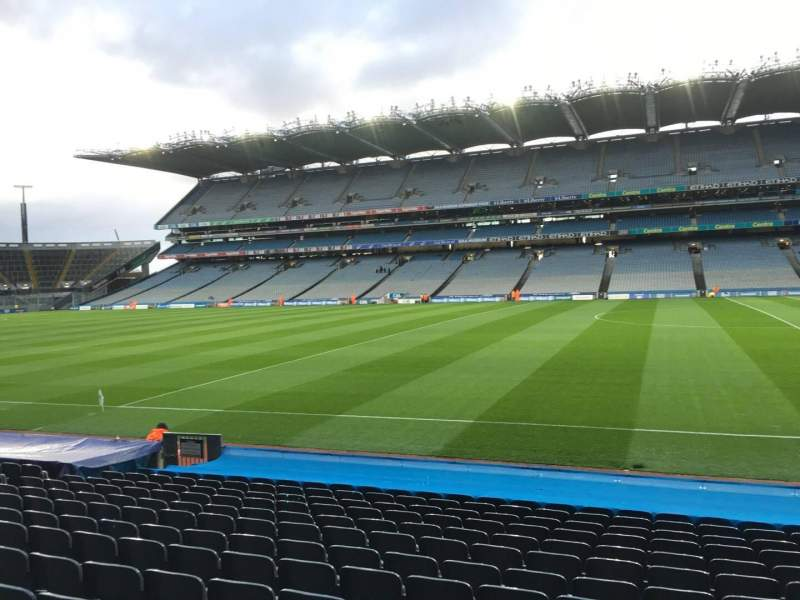 Seating view for Croke Park Section 328 Row Q Seat 24