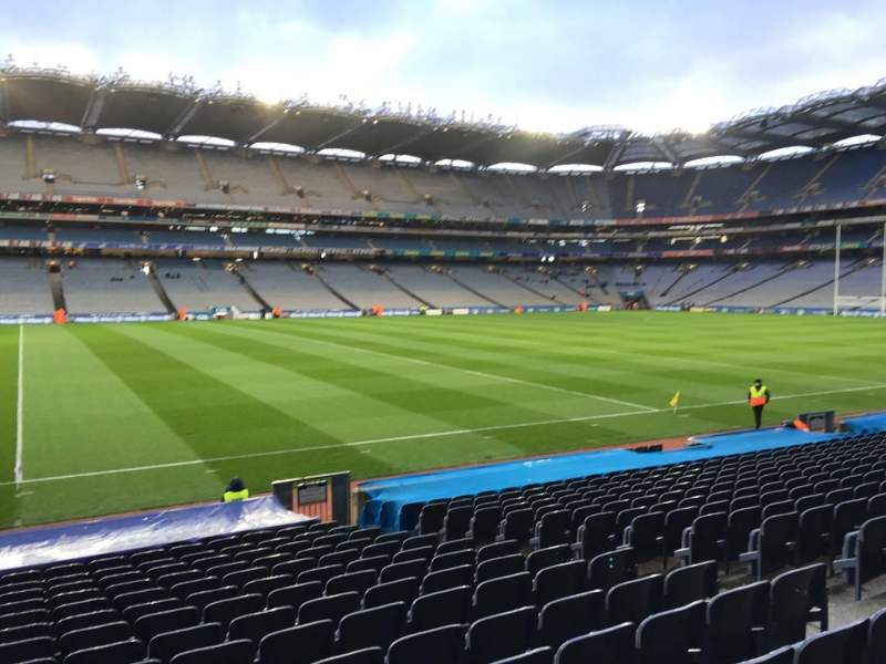 Seating view for Croke Park Section 333 Row S Seat 6