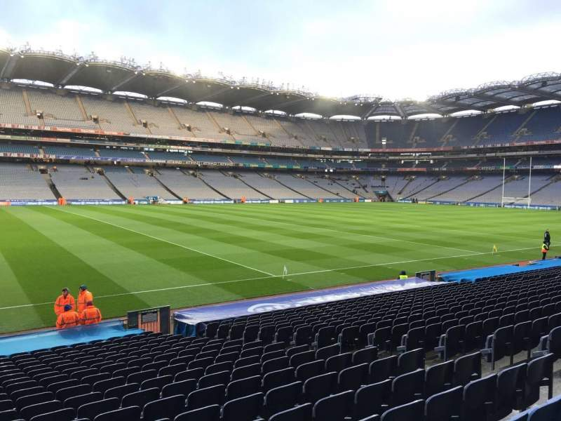Seating view for Croke Park Section 334 Row W Seat 4