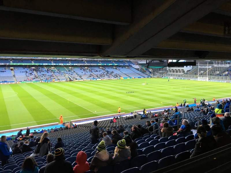 Seating view for Croke Park Section 409 Row Ww