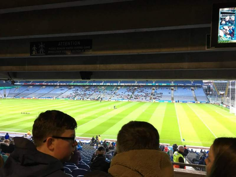 Seating view for Croke Park Section 402 Row Ww Seat 5