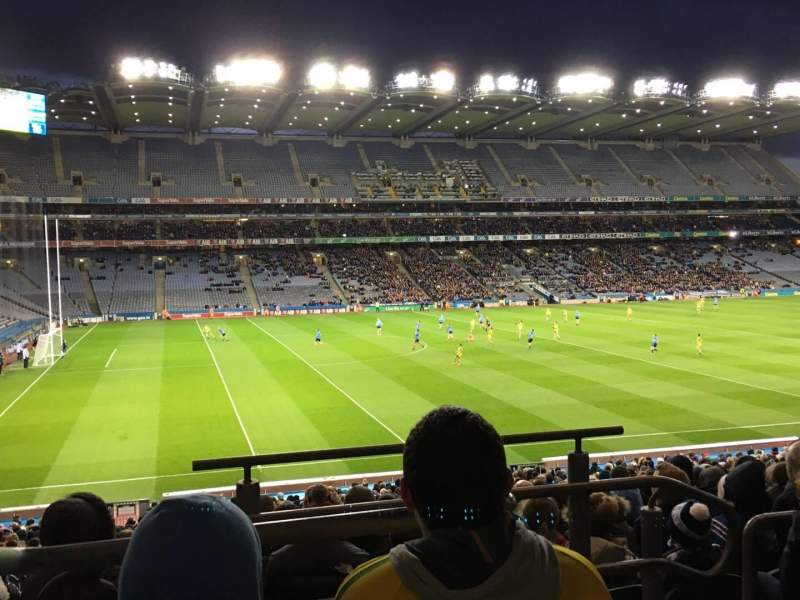 Seating view for Croke Park Section 310 Row Pp Seat 16