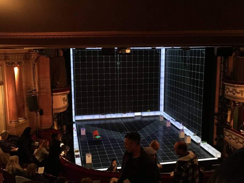 Seating view for Gielgud Theatre Section Dress Circle Row H Seat 27