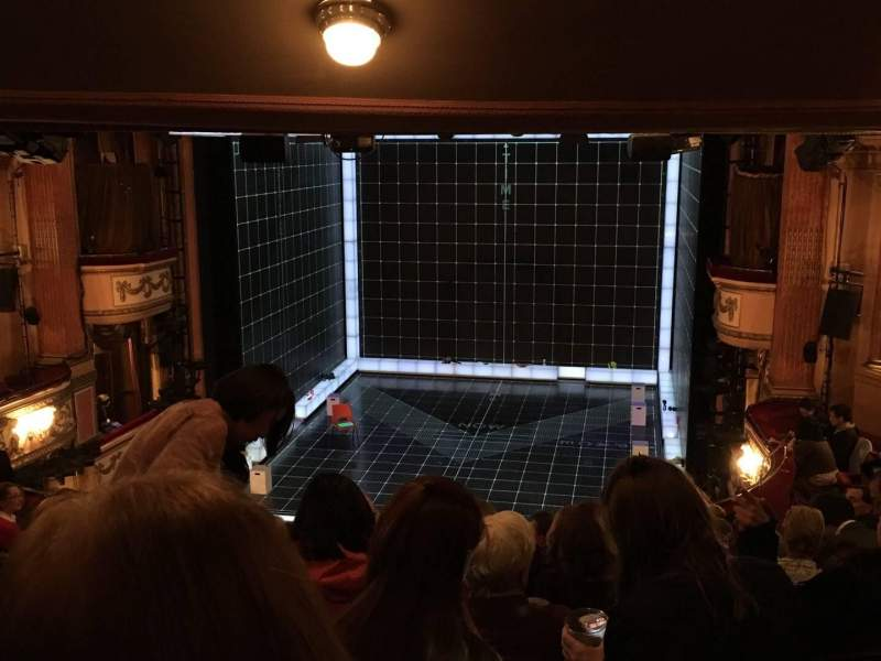 Seating view for Gielgud Theatre Section Dress Circle Row J Seat 11