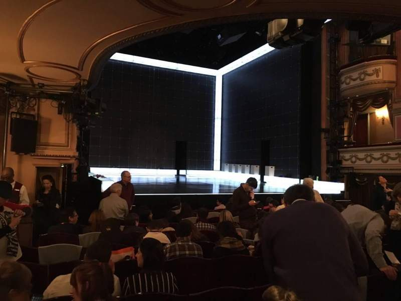 Seating view for Gielgud Theatre Section Stalls Row N Seat 24