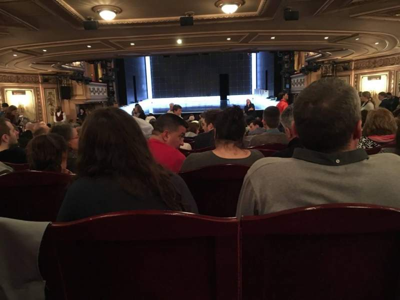 Seating view for Gielgud Theatre Section Stall Row W Seat 12