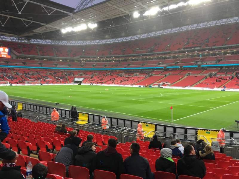 Seating view for Wembley Stadium Section 118 Row 16 Seat 175