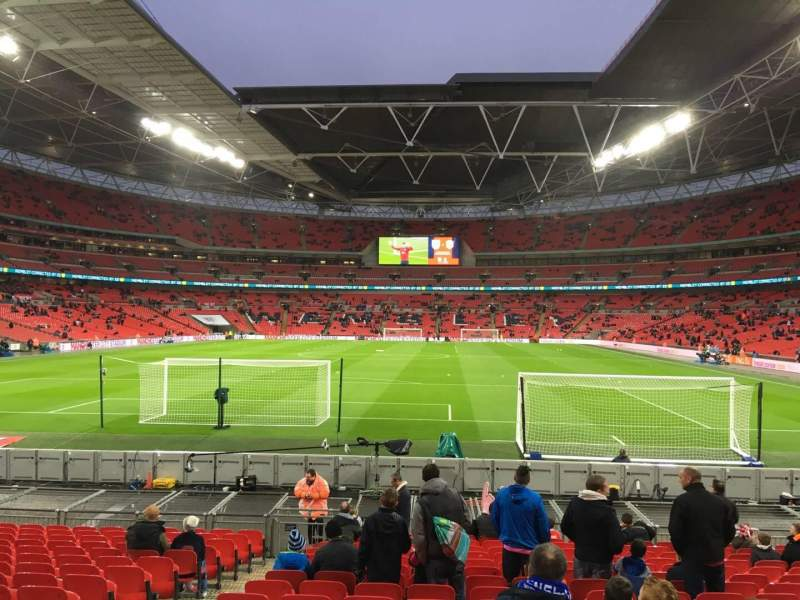 Seating view for Wembley Stadium Section 132 Row 17 Seat 300