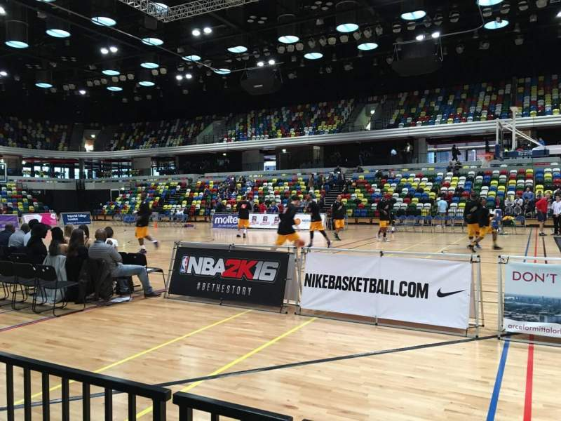 Seating view for Copper Box Section 110 Row 2 Seat 52