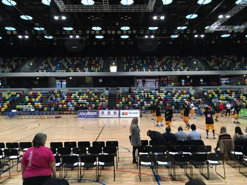 Seating view for Copper Box Section 111 Row 4 Seat 57