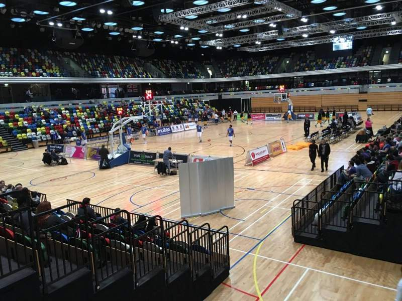 Seating view for Copper Box Section 113 Row 9 Seat 18