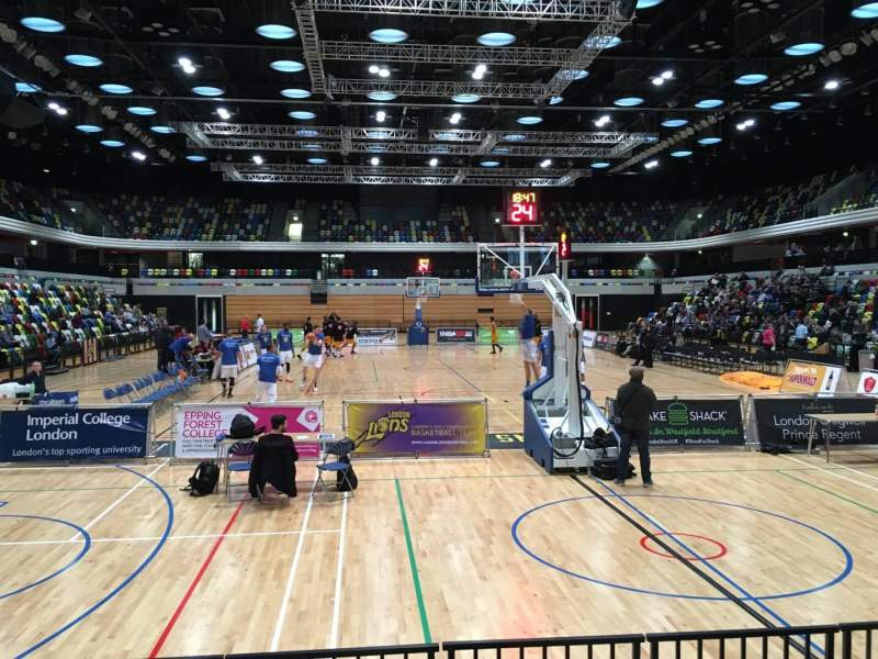 Seating view for Copper Box Section 101 Row 5 Seat 62