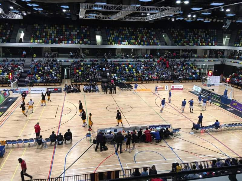 Seating view for Copper Box Arena Section 204 Row 13 Seat 90