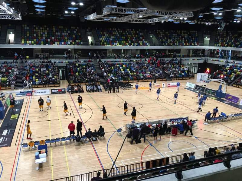Seating view for Copper Box Arena Section 205 Row 13 Seat 101