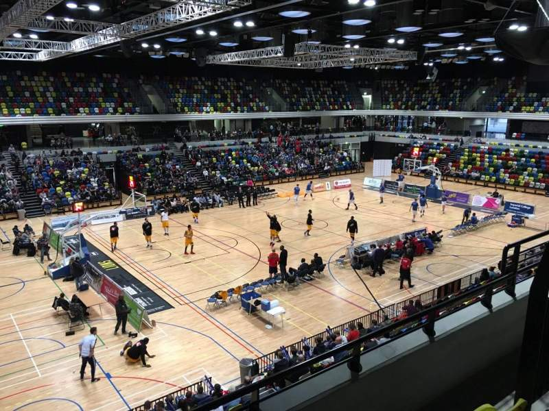Seating view for Copper Box Arena Section 205 Row 13 Seat 125