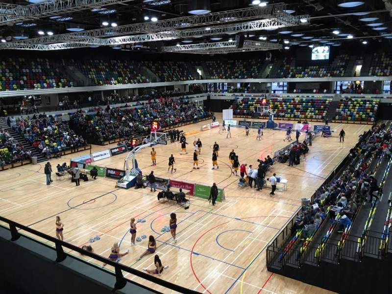 Seating view for Copper Box Section 206 Row 12 Seat 15