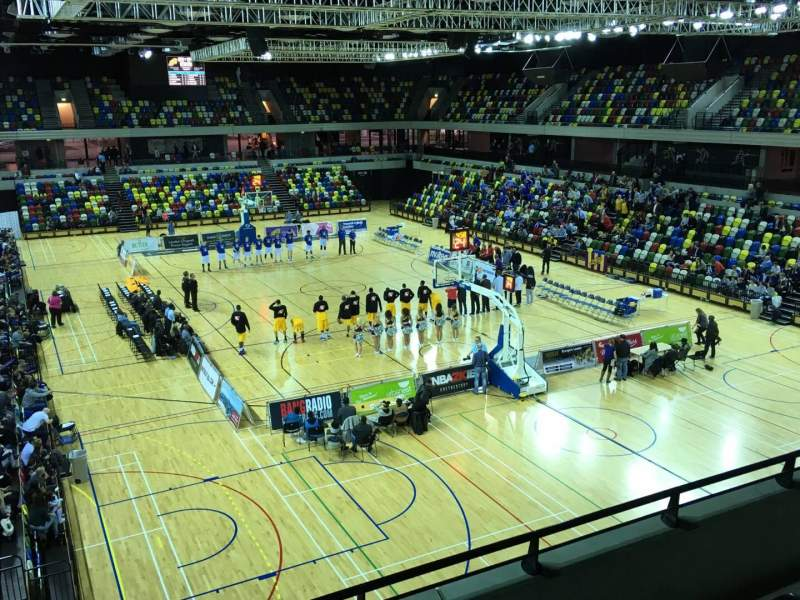 Seating view for Copper Box Section 208 Row 14 Seat 85