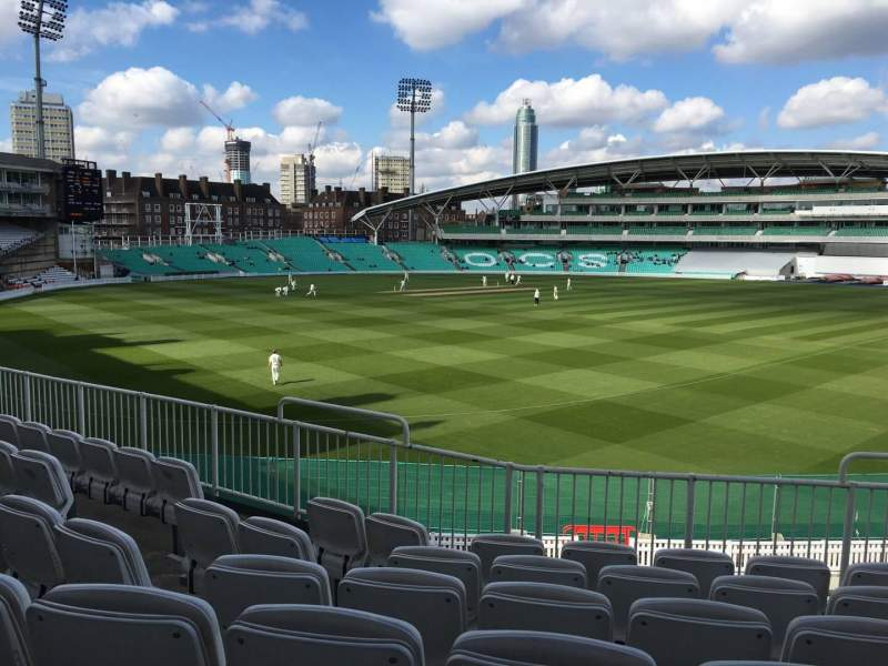 Seating view for Kia Oval Section Lock Laker Stand, Lower Row F Seat 50