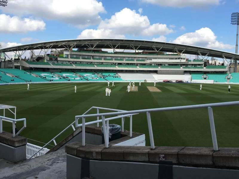 Seating view for Kia Oval Section Lock Laker Stand, Lower Row E Seat 20