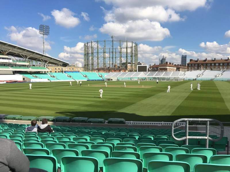 Seating view for Kia Oval Section 1 Row 20 Seat 10