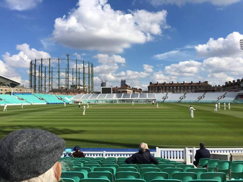 Seating view for Kia Oval Section 3 Row 13 Seat 61