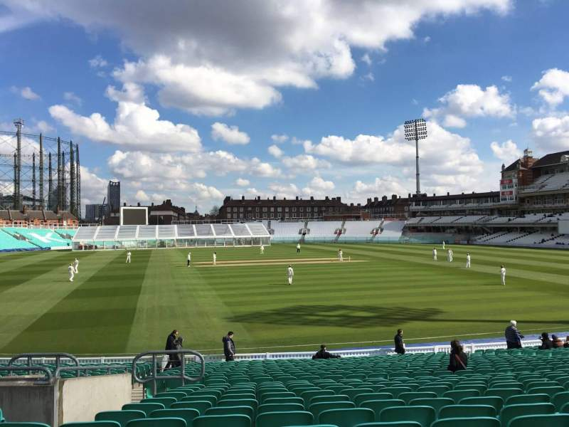 Seating view for Kia Oval Section 4 Row 26 Seat 110
