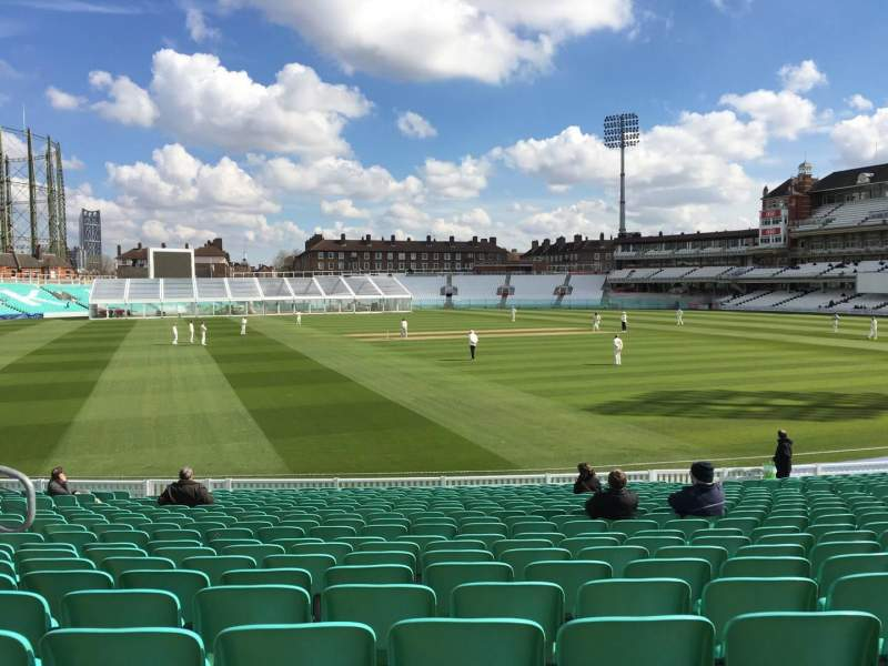 Seating view for Kia Oval Section 5 Row 22 Seat 136