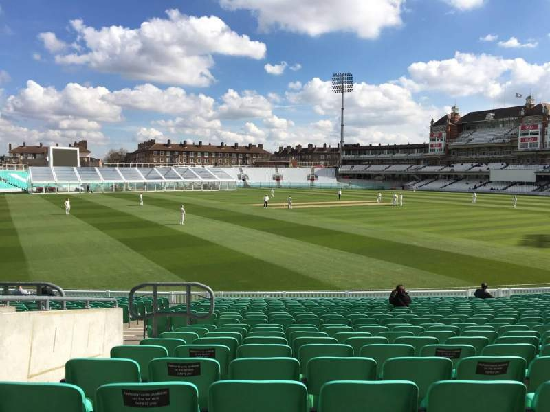 Seating view for Kia Oval Section 6 Row 23 Seat 175