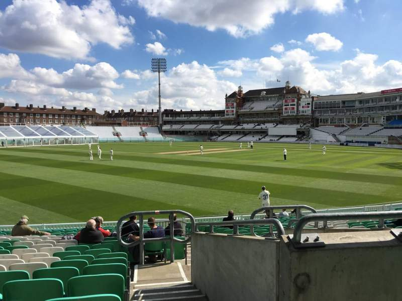 Seating view for Kia Oval Section 7 Row 23 Seat 119