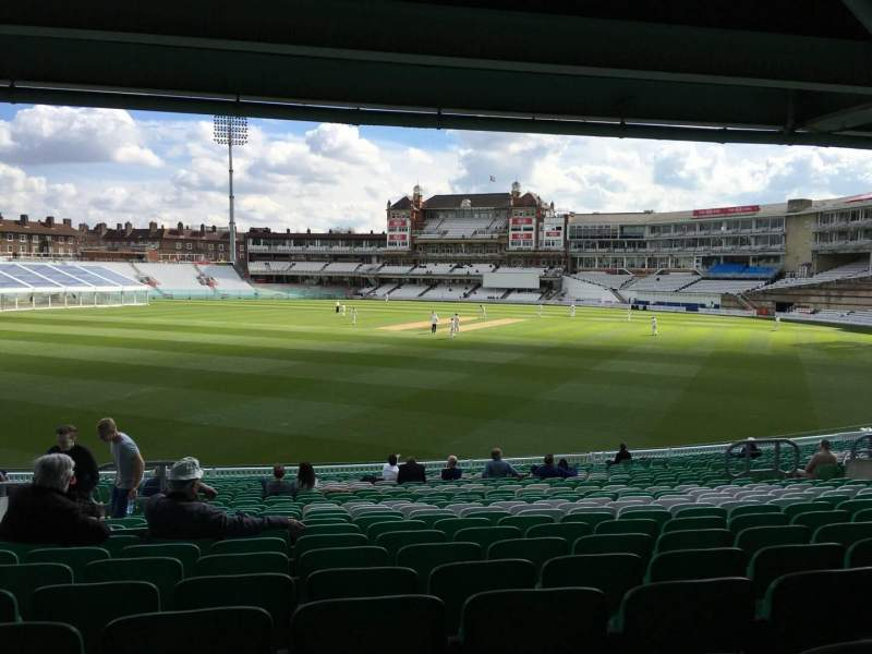 Seating view for Kia Oval Section 10 Row 27 Seat 270
