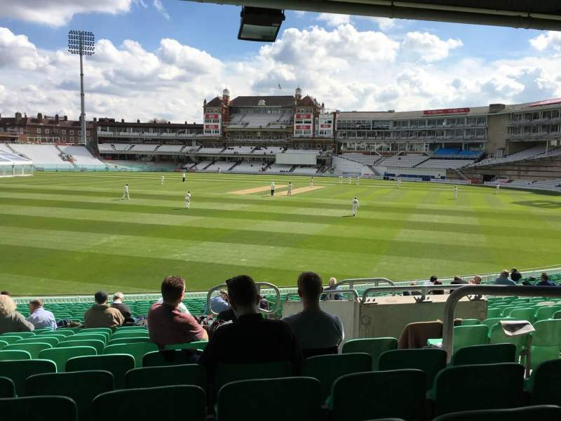 Seating view for Kia Oval Section 10 Row 26 Seat 287