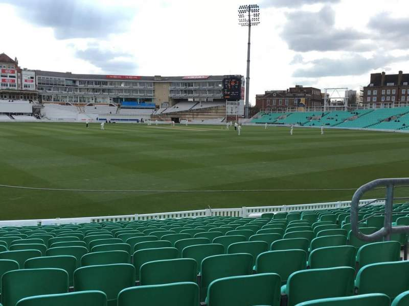 Seating view for Kia Oval Section 14 Row 17 Seat 175