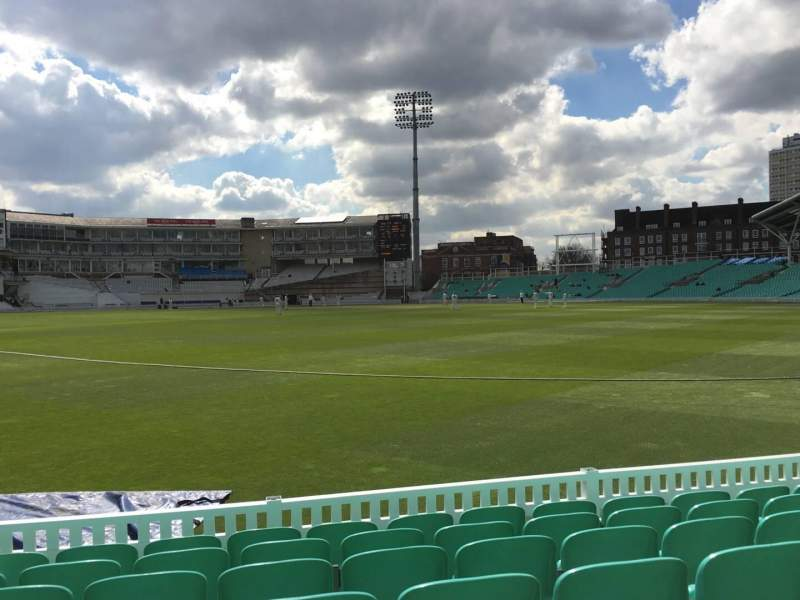 Seating view for Kia Oval Section 16 Row 7 Seat 514