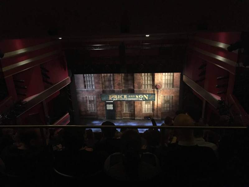 Seating view for Adelphi Theatre Section Upper Circle Row K Seat 16