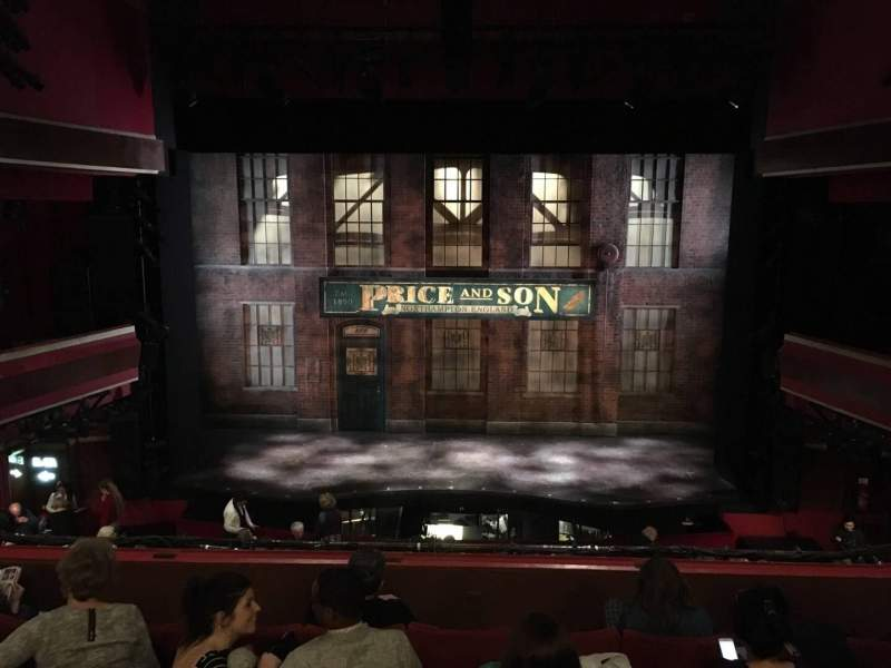 Seating view for Adelphi Theatre Section Dress Circle Row F Seat 18